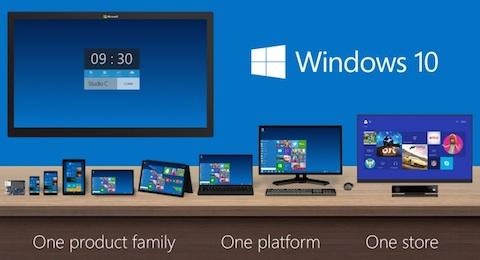 マイクロソフトは「ウインドウズ10」を発表!デスクトップの使い勝手はウインドウズ7をベースに開発中