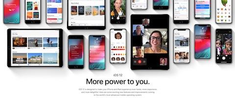 アップルはWWDC2018にて「iOS12」などを発表
