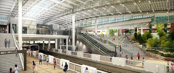 駅名「南町田」は「南町田グランベリーパーク」に改称