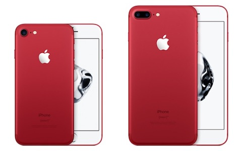 「iPhone7 (PRODUCT)RED」のデザイン