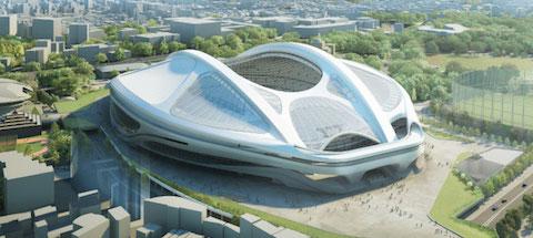 建設費を抑えた「新国立競技場」の案