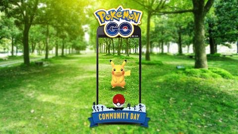 ポケモンGOでは「Pokémon GO コミュニティ・デイ」を毎月開催