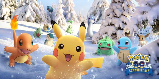 ポケモンGOはコミュニティ・デイに登場したポケモンが大量発生する「Pokémon GO コミュニティ・デイ」を12月1日から12月3日まで開催