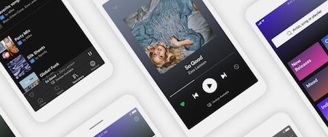 音楽配信サービス「Spotify」は無料会員でもモバイルアプリで聴きたい曲を選択できるアップデートを発表